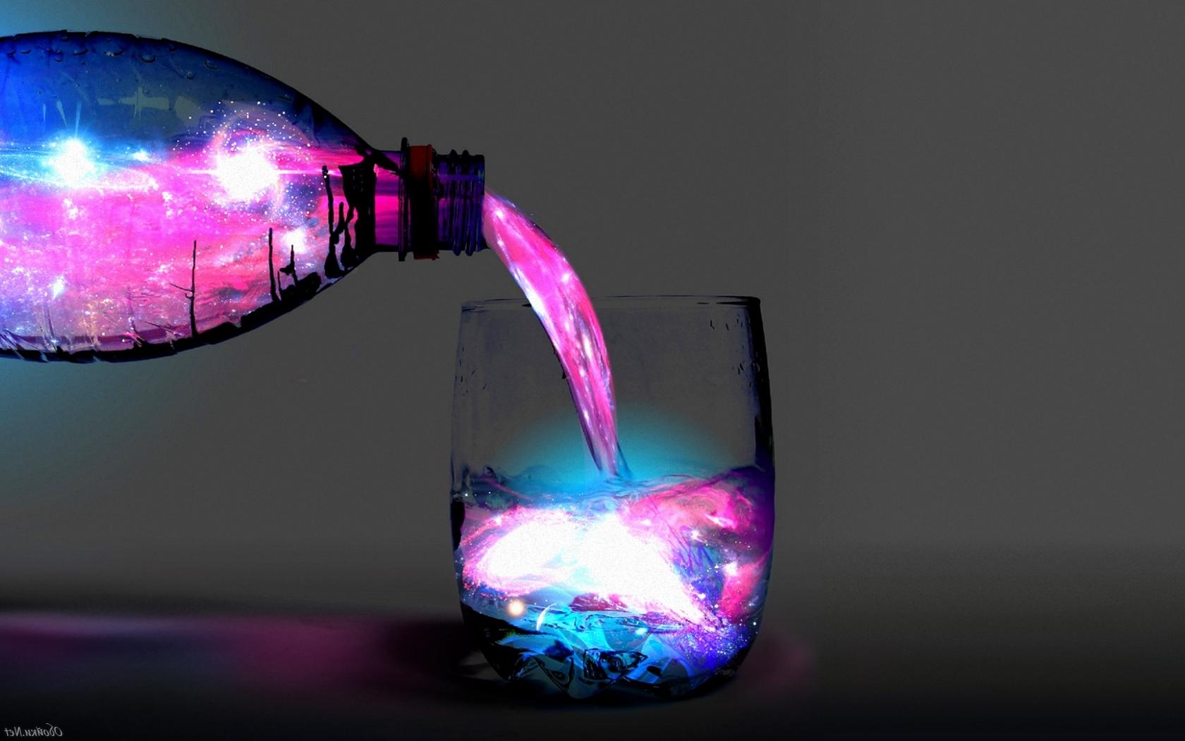 Как сделать светящуюся воду ингредиенты