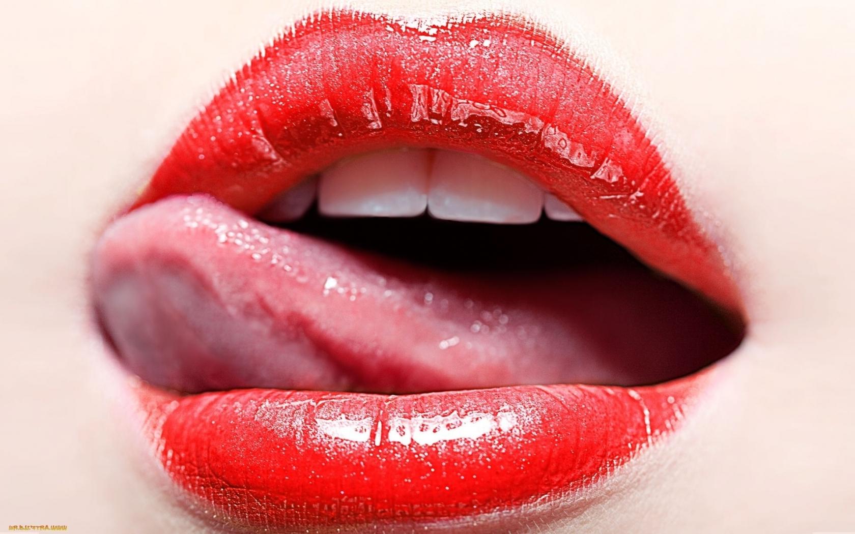 губы с языком картинка