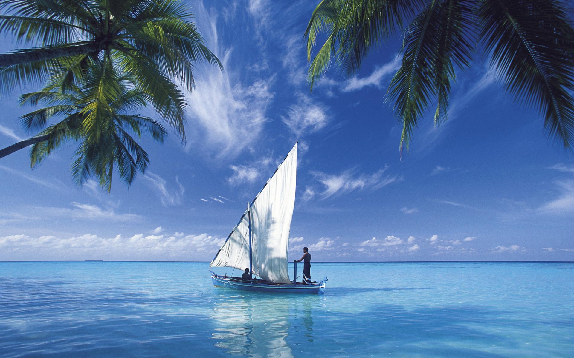 Открытки с яхтой