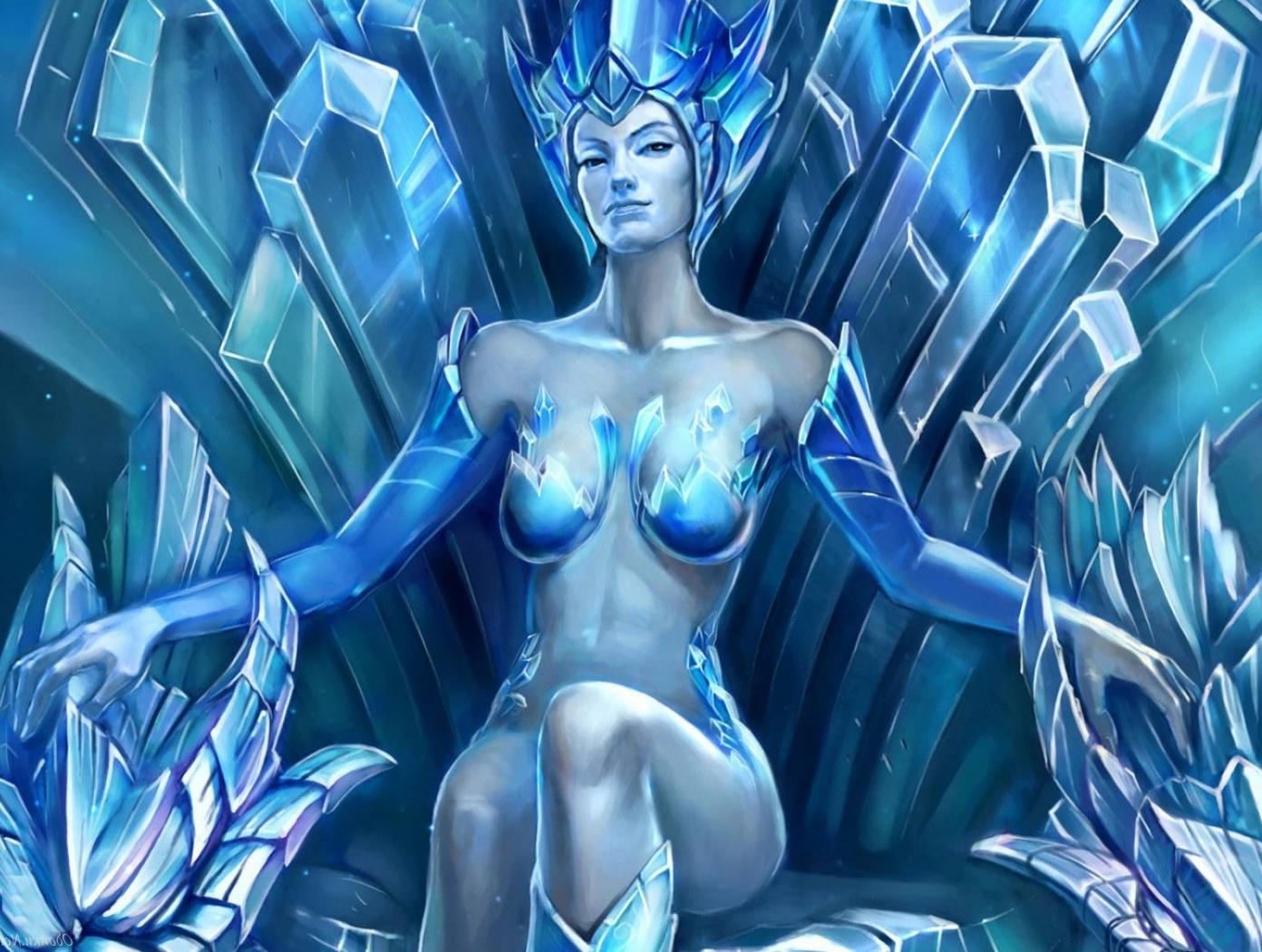 Снежная королева порно арт 24 фотография