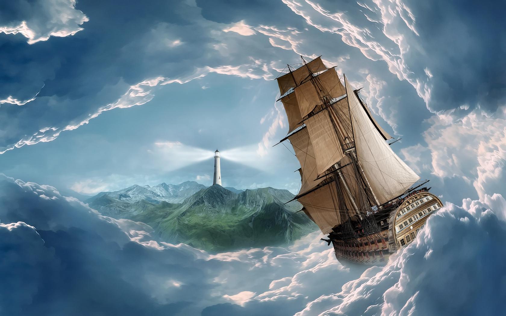 Фото парусных кораблей высокого разрешения