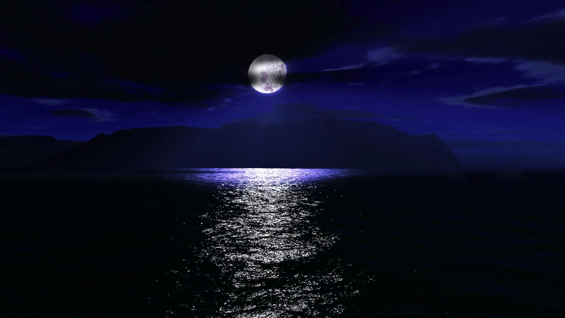 Эротичный лунный свет фото 15 фотография
