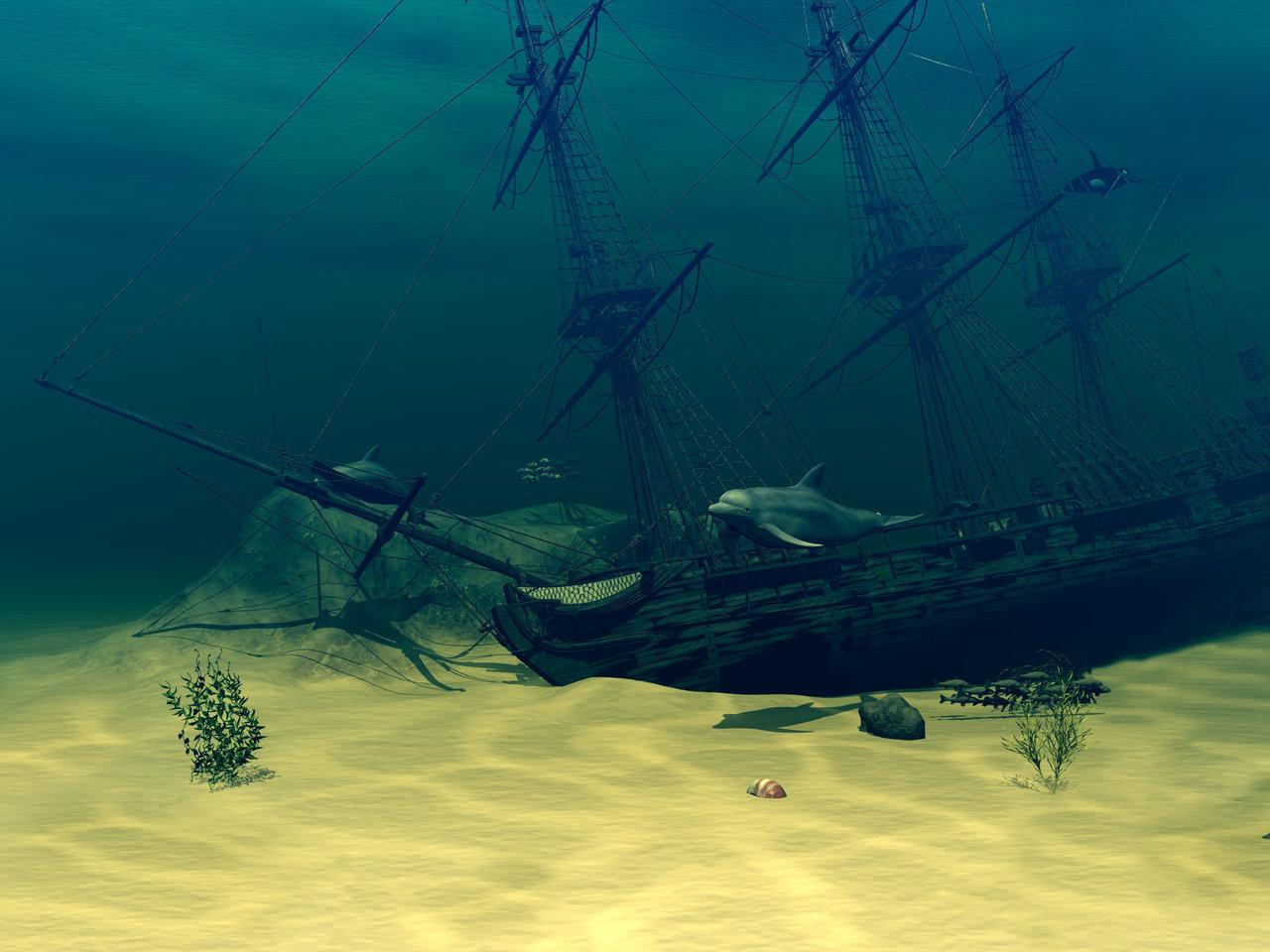 картинка затонувшие корабли автор сайта
