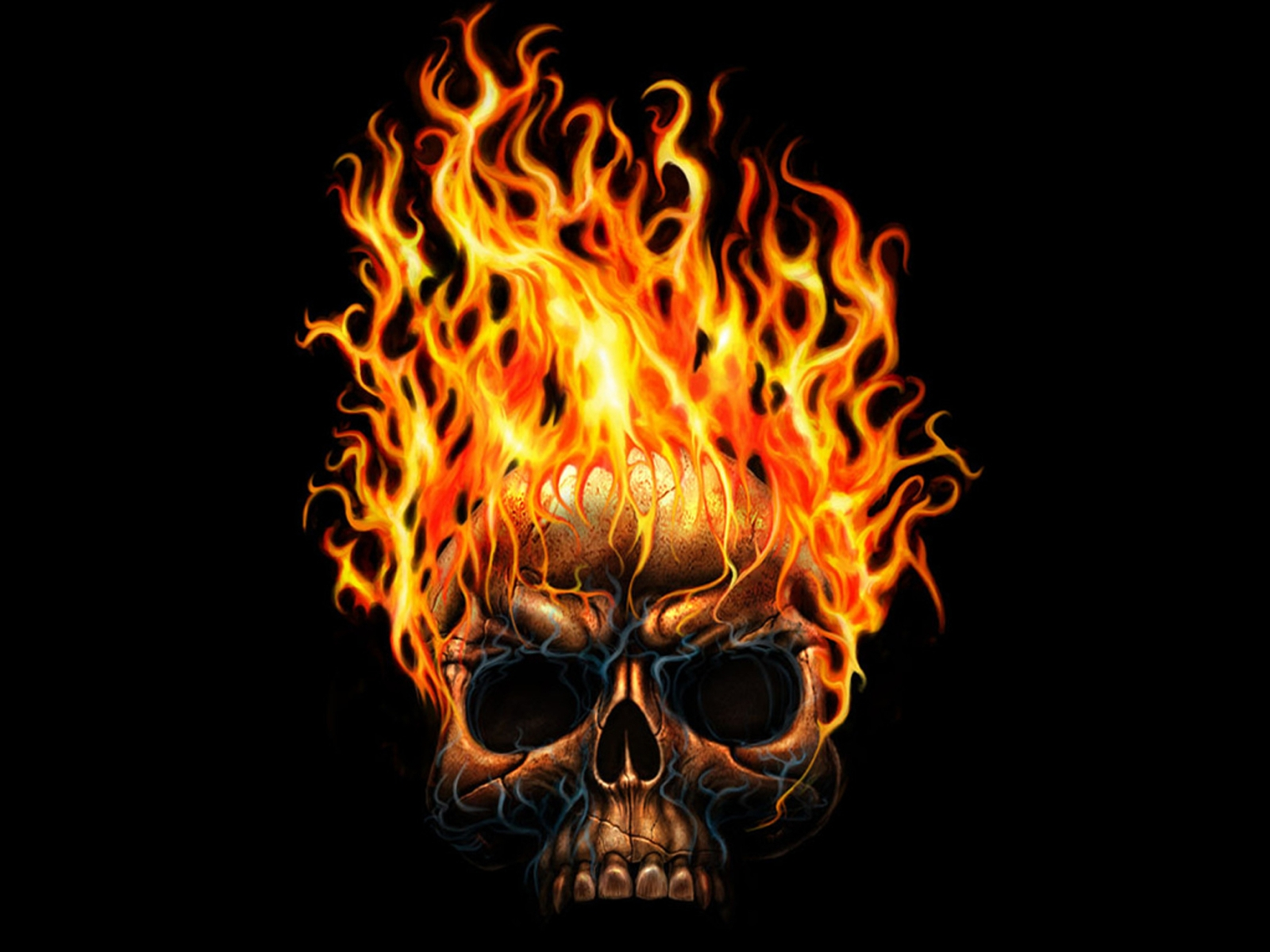 картинки черепов в огне с костями обладают спокойным характером