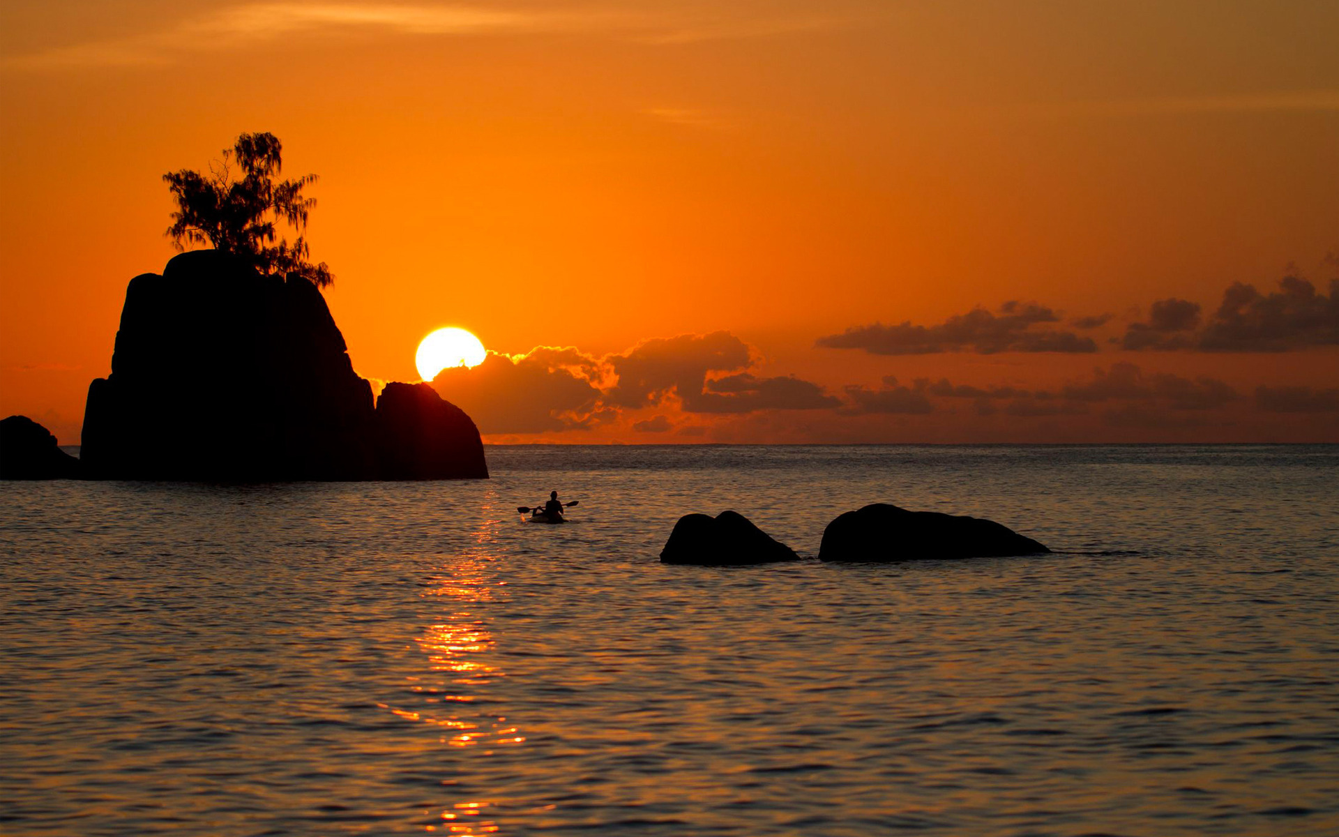 Картинки острова закат