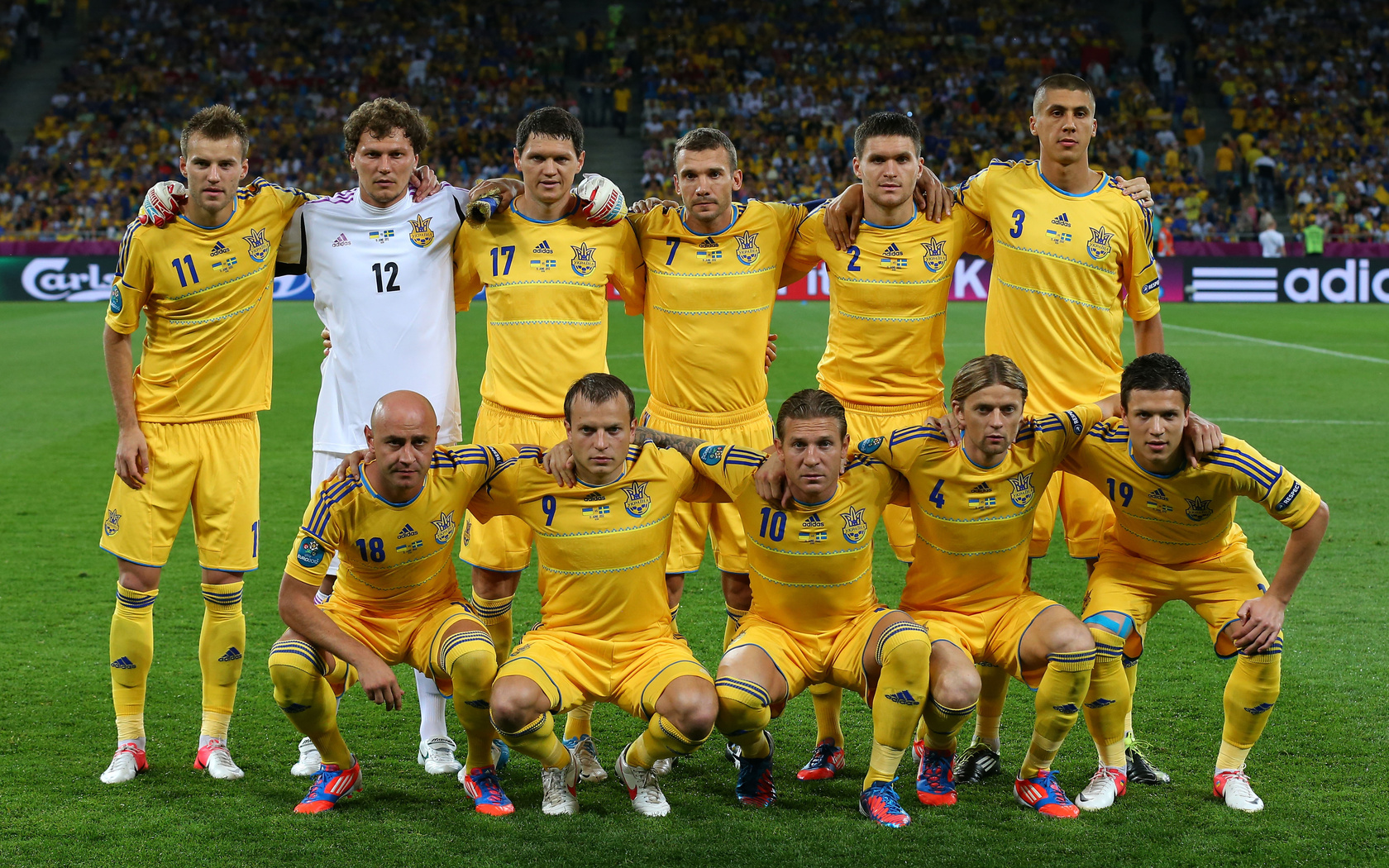Сборная футбол украины